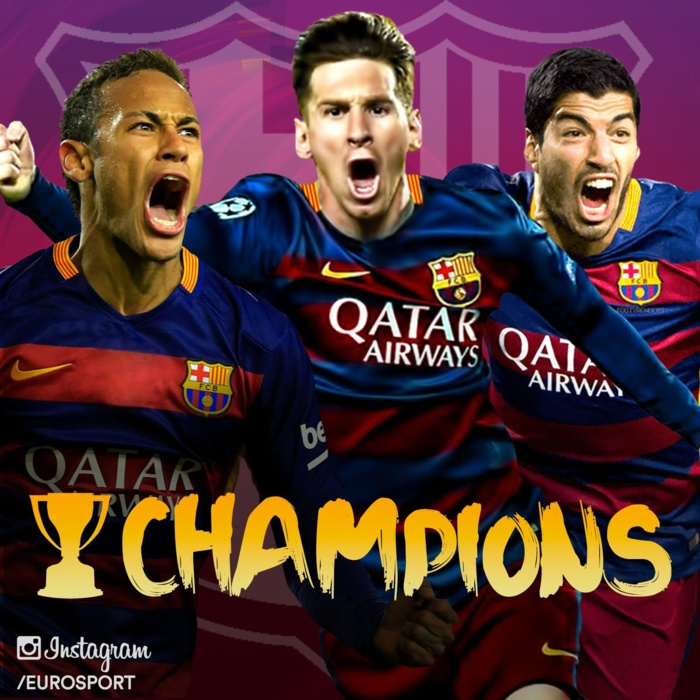 Le FC Barcelone champion d'Espagne