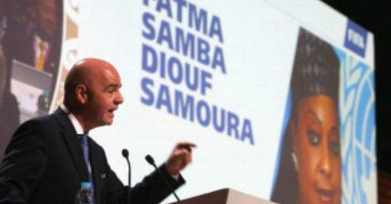 """Fatma Samoura : """"Un signal fort de la FIFA"""""""