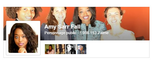 Inédit : La page Facecbook d'Amy Sarr Fall dépasse le million de likes