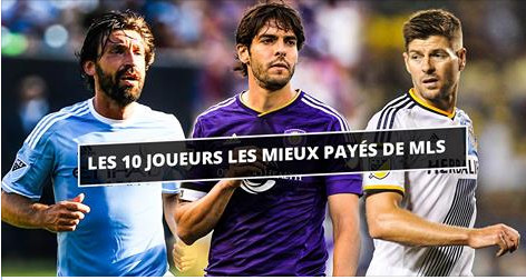 MLS : Kaka, toujours le mieux payé