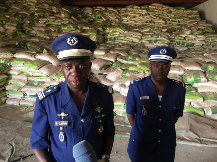 Saisi de 1030,15 tonne de riz impropre à la consommation