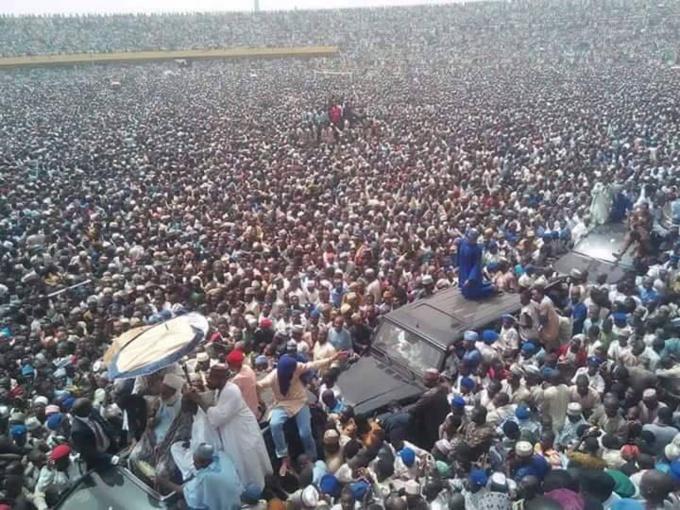 Nigéria : Plus de 5 millions de talibés de Baye Niass prennent d'assaut un stade