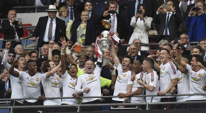 Man United remporte sa 12e FA Cup face à Crystal Palace