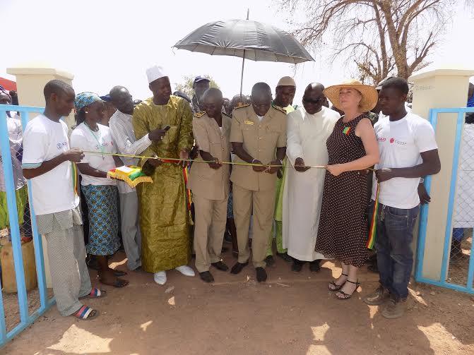 TAMBACOUNDA : La commune de N'dame a abrité la cérémonie d'inauguration des réalisations du Projet DGP3