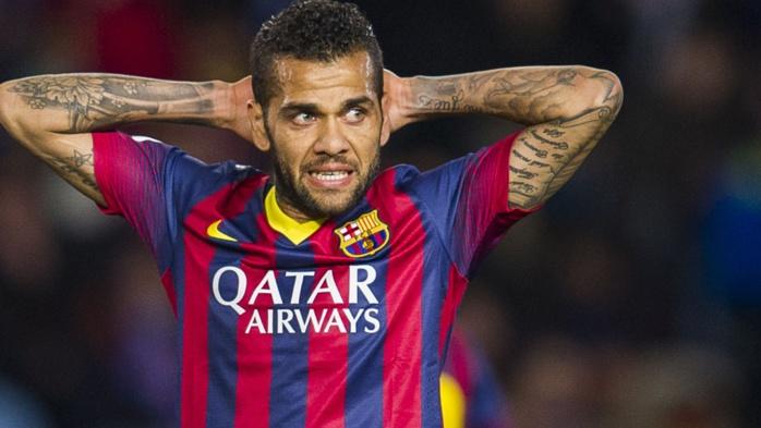Dani Alves et le Barça, c'est bientôt fini