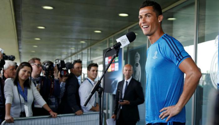 """Ronaldo : """"J'ai eu un peu peur"""""""