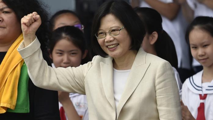 A cause de son célibat, la présidente de Taïwan jugée inapte à gouverner