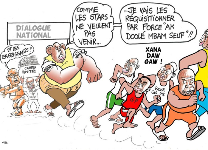 """""""Dialoguer par force"""" (Odia, la Tribune)"""