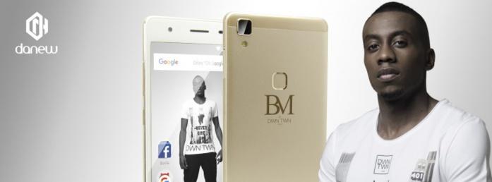 Le footballeur Blaise Matuidi lance sa marque de téléphone mobile