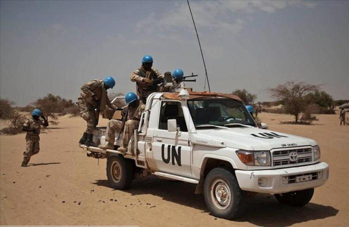 Quatre Casques bleus togolais tués dans une attaque dans le centre du Mali