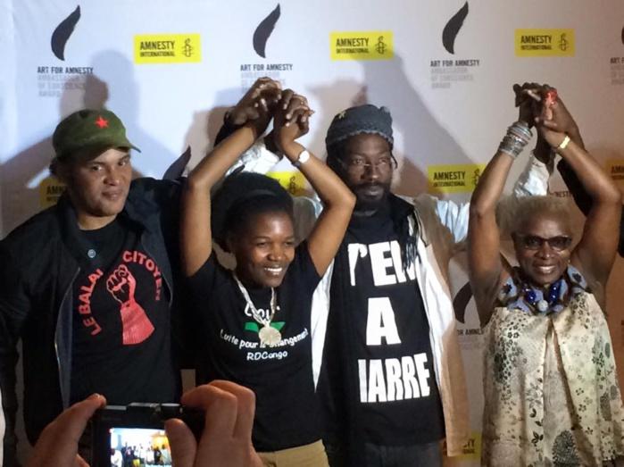 Prix Amnesty en faveur des Ambassadeurs de la conscience : Remise des prix aux récipiendaires