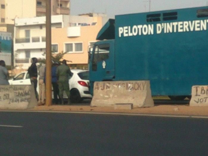 Accident sur l'autoroute : Un véhicule de la gendarmerie percute un particulier