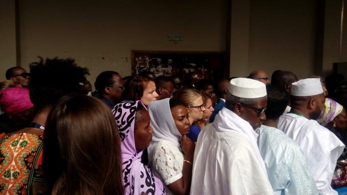 Verdict procès Habré : Quelques images du Palais de justice