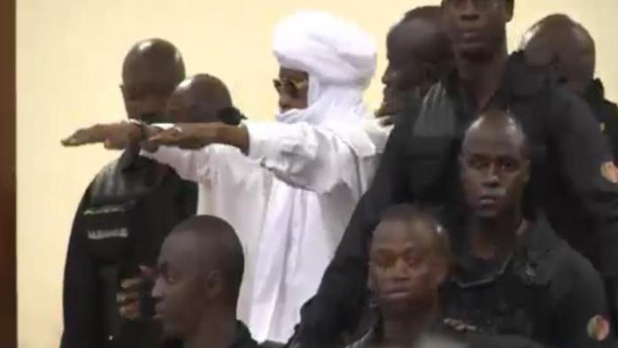 Hissène Habré après sa condamnation : « Vive l'Afrique, à bas la Françafrique! »
