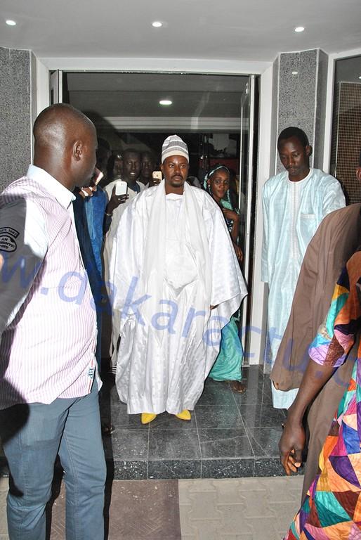 Les images de la visite de  Serigne Bass Abdou Khadre à son talibé Cheikh Tall