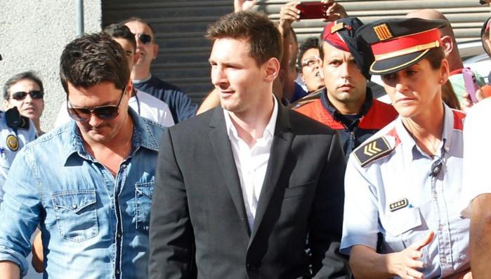 Messi devant la justice