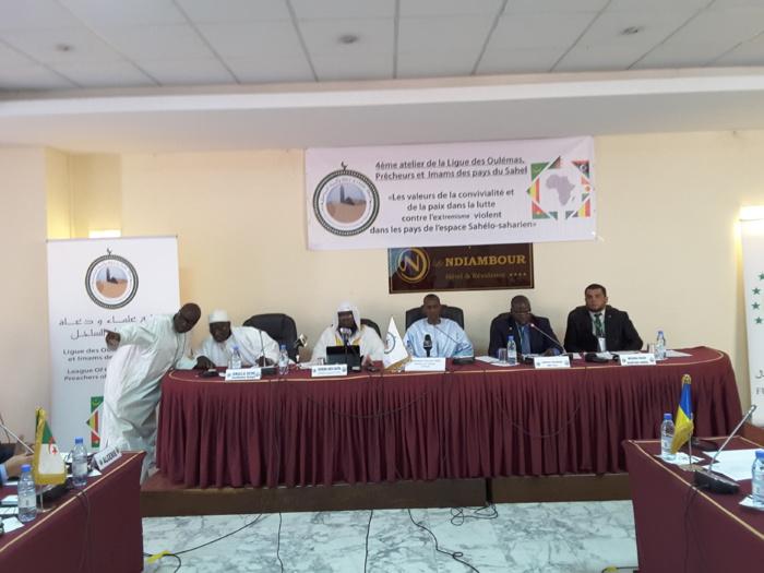Atelier ligue des oulémas et imams du sahel : Abdoulaye Daouda Diallo pour contre radicalisation contre le terrorisme par une large mobilisation des musulmans