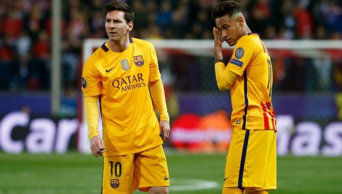 Messi jaloux du nouveau salaire de Neymar