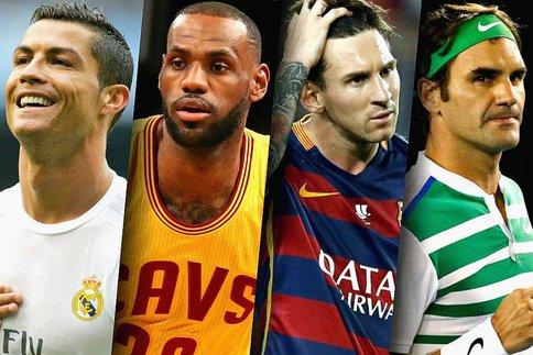 Et le sportif le plus populaire au monde est...