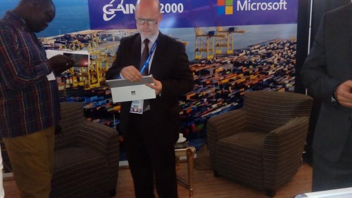 Dématérialisation procédure douanière : Microsoft  présente ses dernières technologies à offrir à la Douane