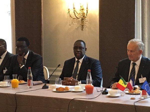 Le président Macky Sall reçu par le MEDEF International