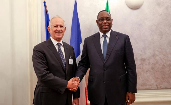 Images de la rencontre du président Macky Sall avec le patronat français ( MEDEF )