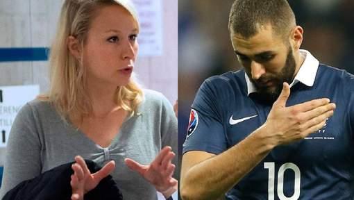 """Marion Le Pen explose avec Benzema: """"Qu'il aille jouer pour l'Algérie"""""""