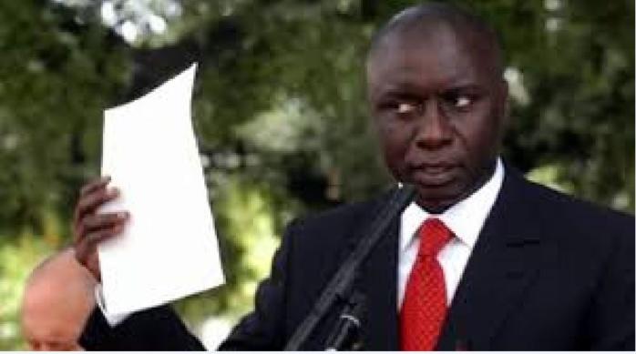 Idy dans la peau du chef de l'opposition : « Le Pds est dans le camp du pouvoir »