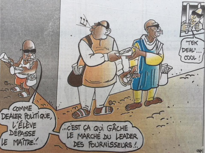"""Tek deal""....Par Odia (La Tribune)"