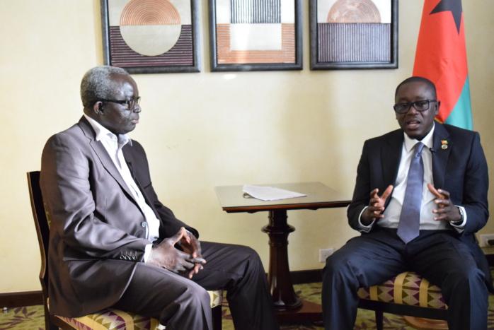 Baciro Dja, Premier Ministre actuel de la Guinée Bissau : «Domingos Simoes Pereira entretient la crise parce qu'il a peur d'aller en prison du fait du népotisme, du clientélisme et des malversations »