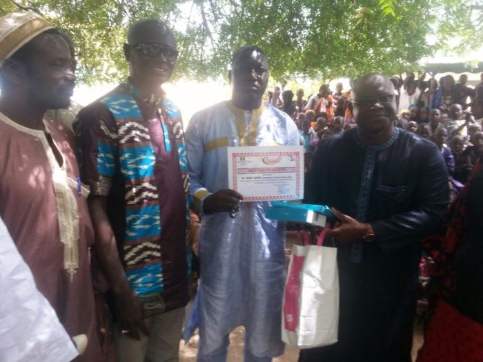 Foundiougne : Le meilleur enseignant du CODEC primé