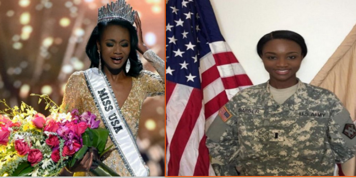 L'officier de l'armée devenue miss USA 2016