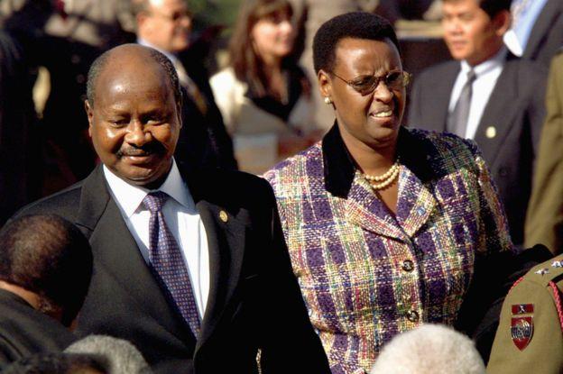 Museveni nomme son épouse ministre