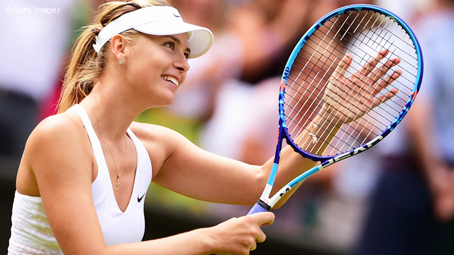 Sharapova suspendue 2 ans