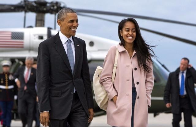 Le président Obama se rendra à la remise de diplôme de sa fille Malia, le même jour que les funérailles de Mohamed Ali