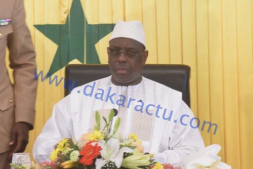 Message du Président de la République Macky Sall à l'occasion de l'avènement du mois béni du ramadan