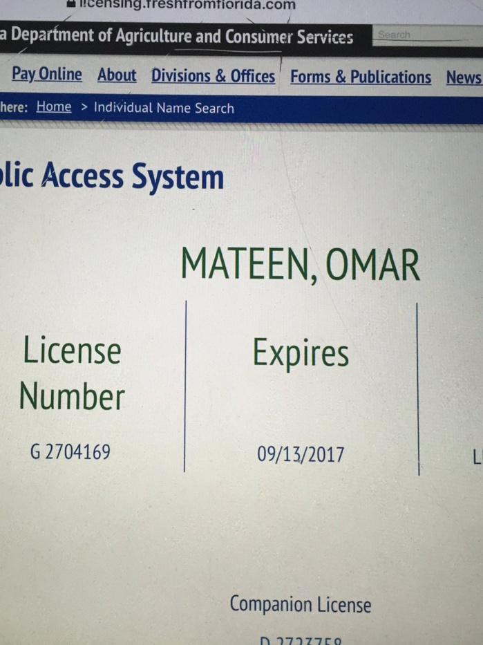 Le tireur d'Orlando identifié comme Omar Mateen, Américain d'origine afghane, annnoncent plusieurs médias américains