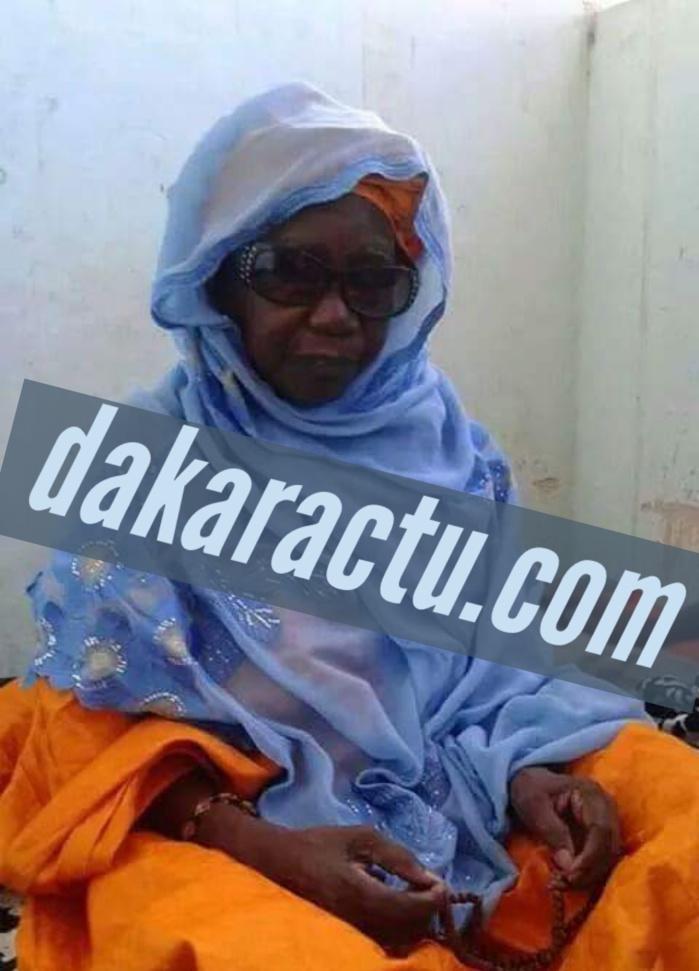 Mame Saï Samb, épouse du Khalife des Mourides tire sa révérence