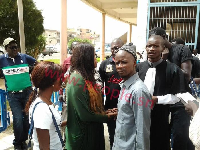 Déesse Major, en larmes, après sa libération : « Alhamdoulilahi ! C'est une épreuve à laquelle je ne pouvais pas échapper »