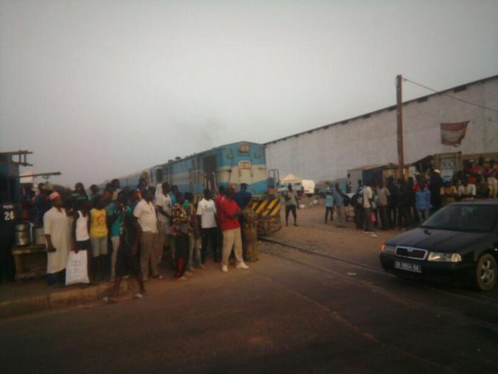 Accident entre un train et un minibus à Fass Mbao : un mort plusieurs blessés graves