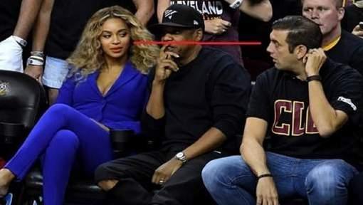 Que se passe-t-il quand un fan de basket fixe du regard Beyoncé?