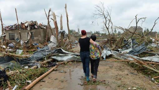 Une violente tornade frappe la Chine, au moins 98 morts