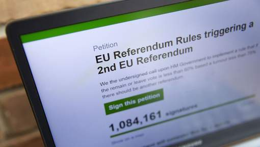 Brexit : La pétition pour un nouveau référendum atteint 2 millions de signatures
