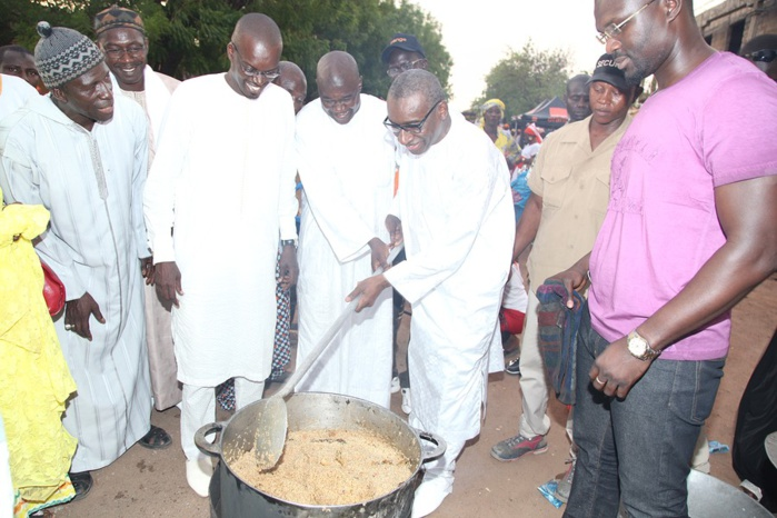 Marmite du coeur à Tambacounda : Action conjointe initiée par Sidiki Kaba et Mamadou Kassé (IMAGES)