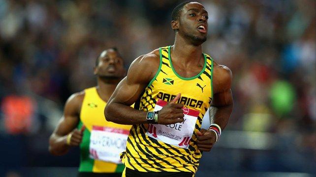 Le sprinteur jamaïcain Bailey-Cole a contracté le virus Zika