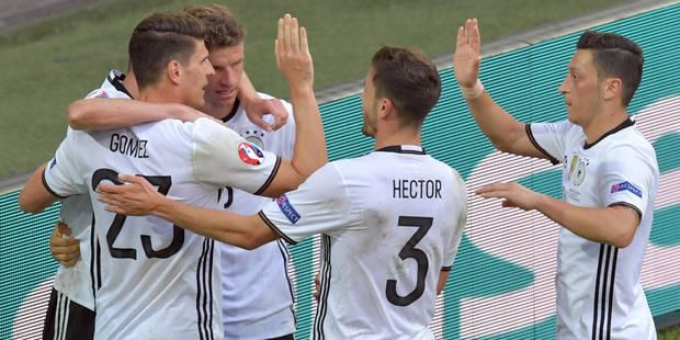 L'Allemagne se qualifie sans trembler face à la Slovaquie (3-0)