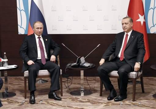 Erdogan s'est excusé auprès de Poutine