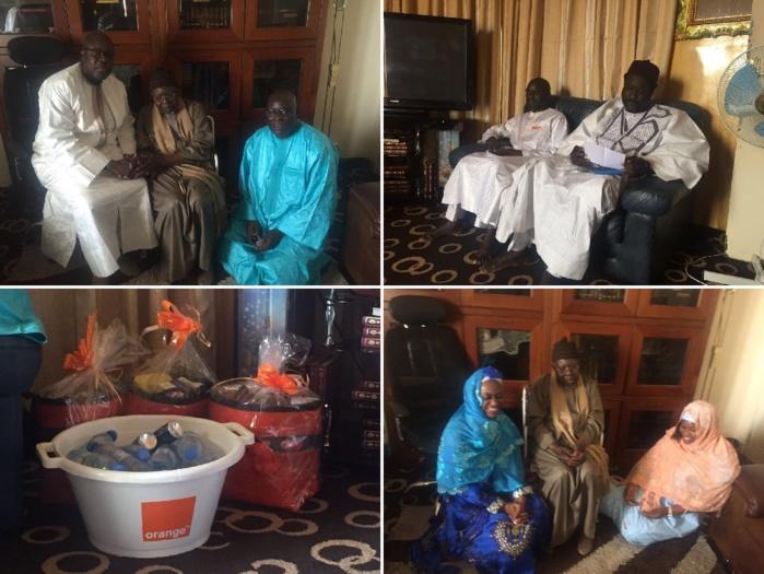 Visite de courtoisie : Sonatel reçue par le porte-parole des Tidianes Serigne Abdoul Aziz Sy Amine