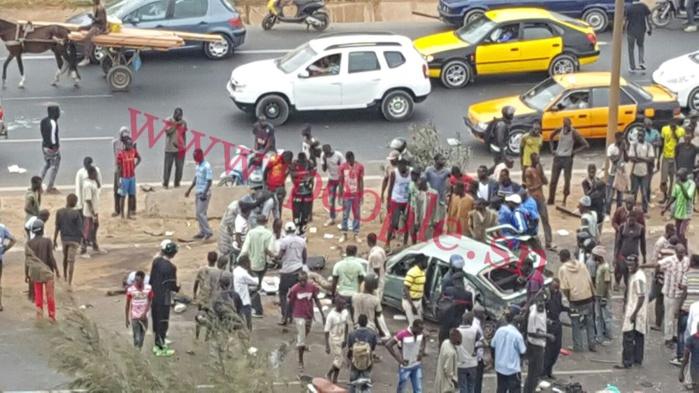 Grave accident sur la route de Rufisque : Deux morts et des blessés