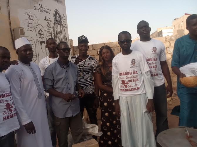 Social -Ramadan- Le Ministre Amadou Ba assiste  en denrées alimentaires  les «Cafés» et autres «Bamba Ramadan» des P.A